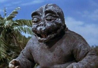 Minilla - Image: Son of Godzilla, Minilla