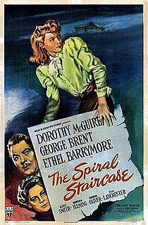 <i>The Spiral Staircase</i> (1946 film) 1946 film by Robert Siodmak