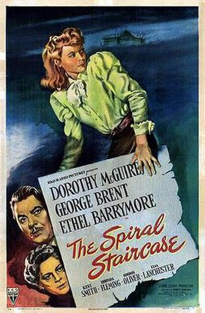 The Spiral Staircase (1946 film) - Theatrical release poster
