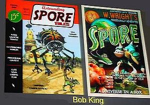 Development of Spore - Image: Spore Comics