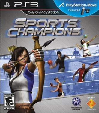 Sports Champions - North American cover art