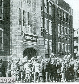 Mount Carmel High School (Chicago) - Dedication – 1924