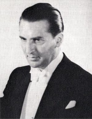 Stanford Robinson - Robinson as Assistant Conductor of the Proms, circa 1950