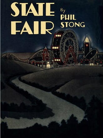 State Fair (novel) - Dust jacket art for 1932 first edition