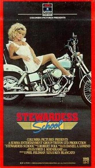 Stewardess School - Stewardess School VHS cover