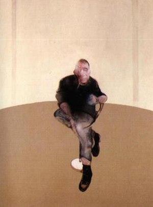 The Black Triptychs - Image: Study for a Self Portrait Triptych, 1985 86