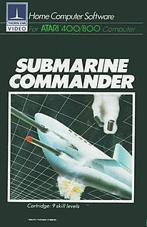 <i>Submarine Commander</i> 1982 video game