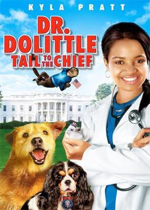 Dr. Dolittle: Tail to the Chief - DVD cover