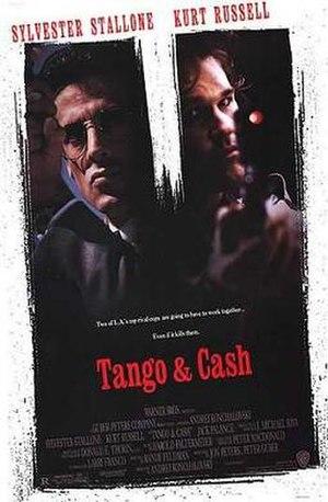 Tango & Cash - promotional poster