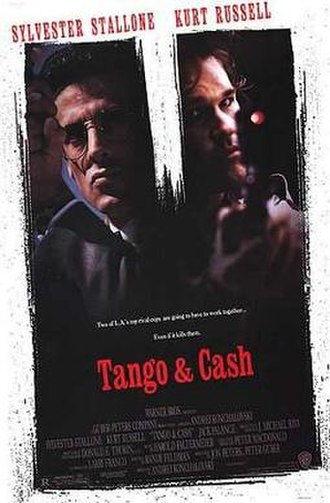 Tango & Cash - Theatrical release poster