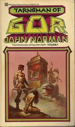 Tarnsman of gor vallejo cover