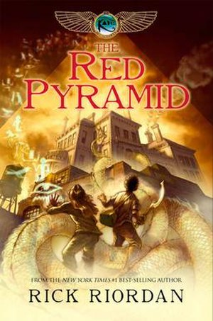 The Red Pyramid - Cover of first edition