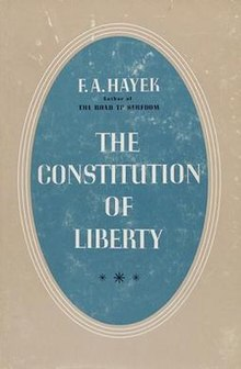 The Constitution of Liberty (Hayek book).jpg