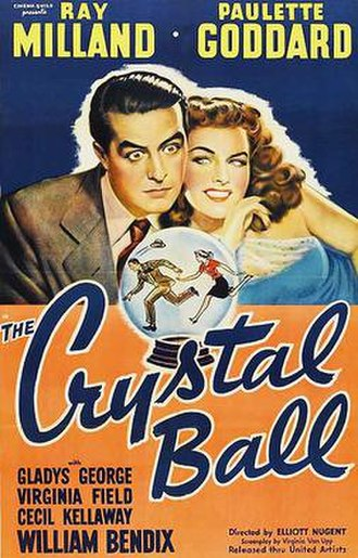 The Crystal Ball (film) - Theatrical release poster