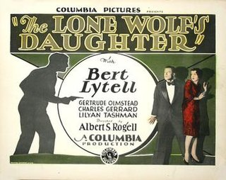 <i>The Lone Wolfs Daughter</i> (1929 film) 1929 film