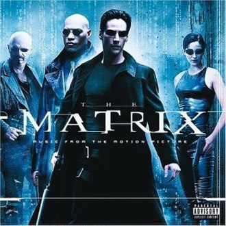 The Matrix: Music from the Motion Picture - Image: The Matrix soundtrack cover