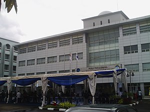 Syarif Hidayatullah State Islamic University Jakarta - The opening ceremony of the National Information, Communication and Technology Center