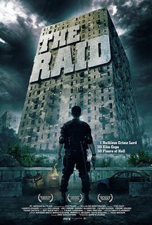 <i>The Raid</i> (2011 film) 2011 Indonesian action film directed by Gareth Evans