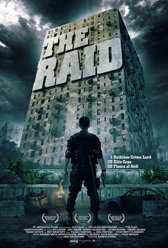 The Raid (2011 film) - Indonesian theatrical release poster
