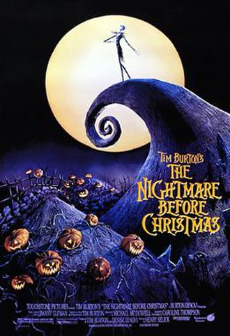The Nightmare Before Christmas - Original theatrical release poster