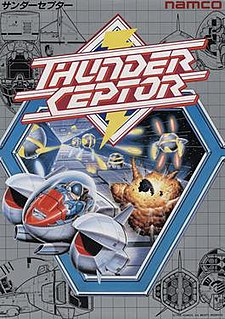 <i>Thunder Ceptor</i> 1986 video game