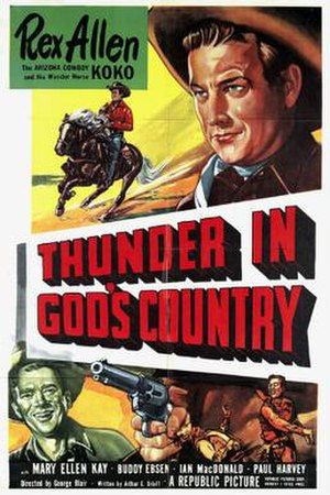 Thunder in God's Country - Theatrical release poster