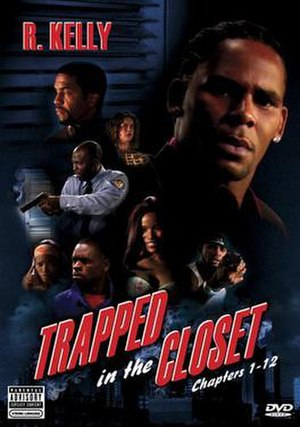 Cover for the Trapped in the Closet DVD, conta...