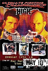 A poster or logo for UFC 37: High Impact.