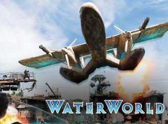 Waterworld: A Live Sea War Spectacular - Image: Universal Studios Hollywood Promo Water World