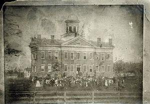 Hiram College - Western Reserve Eclectic Institute, Hiram, 1858