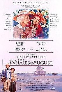 <i>The Whales of August</i> 1987 film by Lindsay Anderson