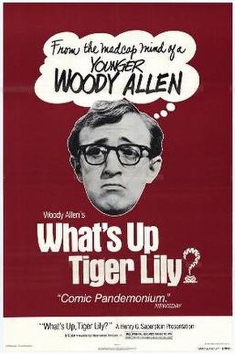 What's Up, Tiger Lily? - Theatrical re-release poster