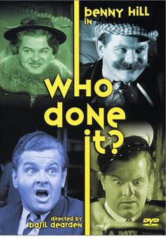 Who Done It? (1956 film) - Image: Who Done It? Video Cover