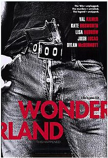 <i>Wonderland</i> (2003 film) 2003 American crime and drama film by James Cox