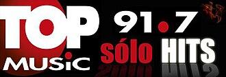 XHKH-FM - Image: XHKH topmusic 91.7 logo