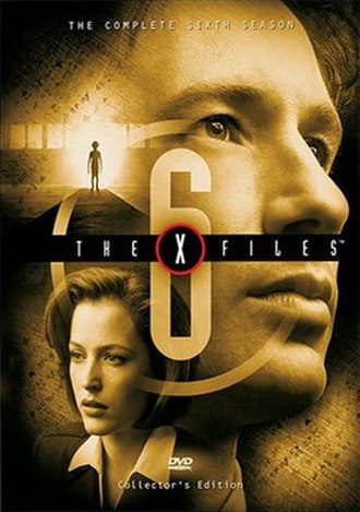 The X-Files (season 6) - DVD cover