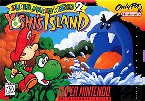 Yoshi's Island - Image: Yoshi's Island (Super Mario World 2) box art