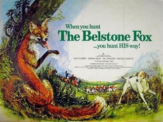 The Belstone Fox - Original British quad by Brian Bysouth
