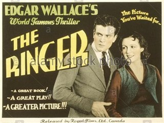 <i>The Ringer</i> (1931 film) 1931 film