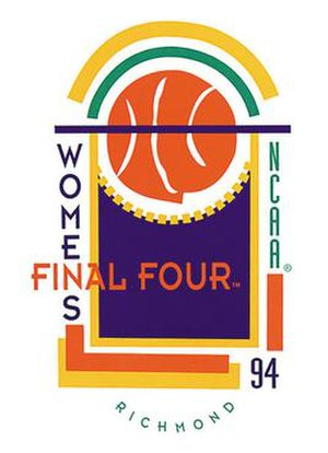 1994 NCAA Division I Women's Basketball Tournament - Image: 1994Womens Final Four Logo