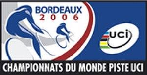 2006 UCI Track Cycling World Championships - Image: 2006 UCI Track Cycling World Championships logo