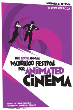 Waterloo Festival for Animated Cinema - Poster for the 2006 Waterloo Festival for Animated Cinema