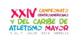 2013 Central American and Caribbean Championships in Athletics - Image: 2013 cac senior morelia logo