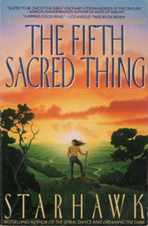 The Fifth Sacred Thing - Cover of trade paperback edition