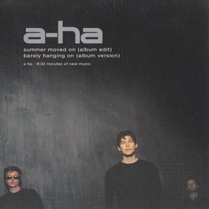 Summer Moved On - Image: A ha Summer Moved On Single