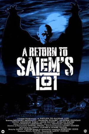 A Return to Salem's Lot - UK VHS cover