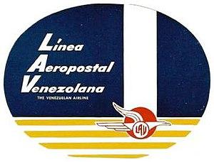 Aeropostal Alas de Venezuela - Old Aeropostal Logo