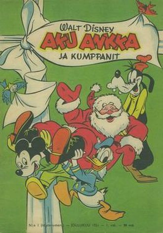 Aku Ankka - The first issue of Aku Ankka, December 1951