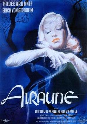 Alraune (1952 film) - German poster for Alraune