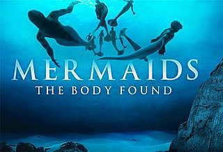 <i>Mermaids: The Body Found</i> 2012 television film directed by Sid Bennett